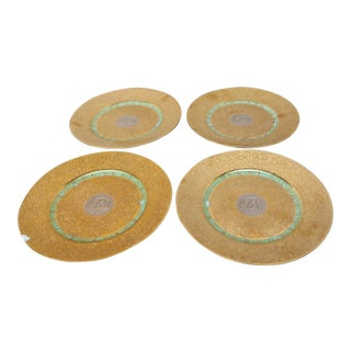 Hutschenreuther Gold Plates - Set of 4 For Sale