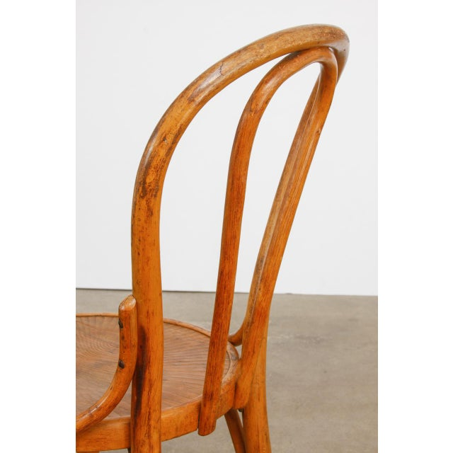 Michael Thonet No. 18 Bentwood Viennese Cafe Chairs - a Pair For Sale In San Francisco - Image 6 of 13
