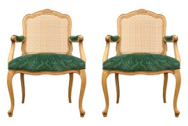 Image of Bottle Green Side Chairs
