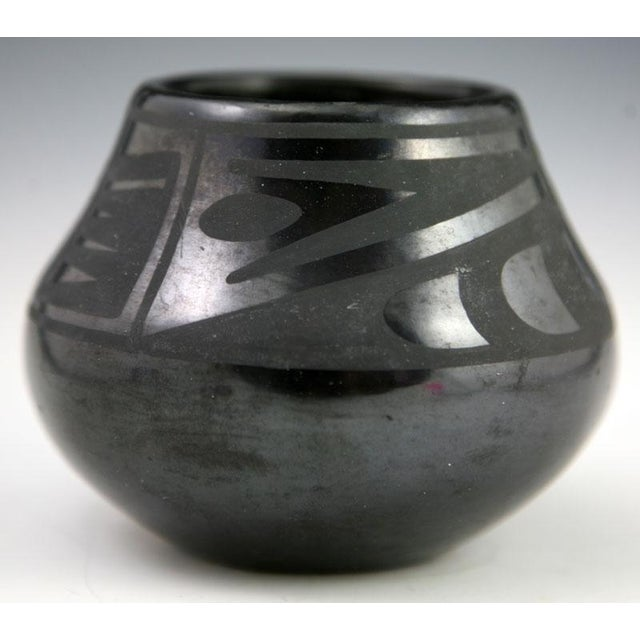 Maria Martinez & Popovi Da Black on Black Jar, 1950 - Image 5 of 8