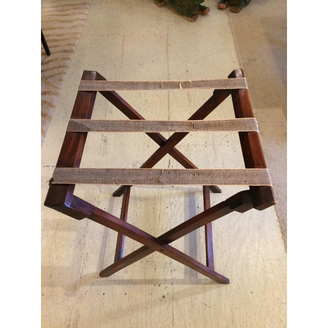 English Traditional Mahogany Butler's Tray Table For Sale - Image 10 of 11
