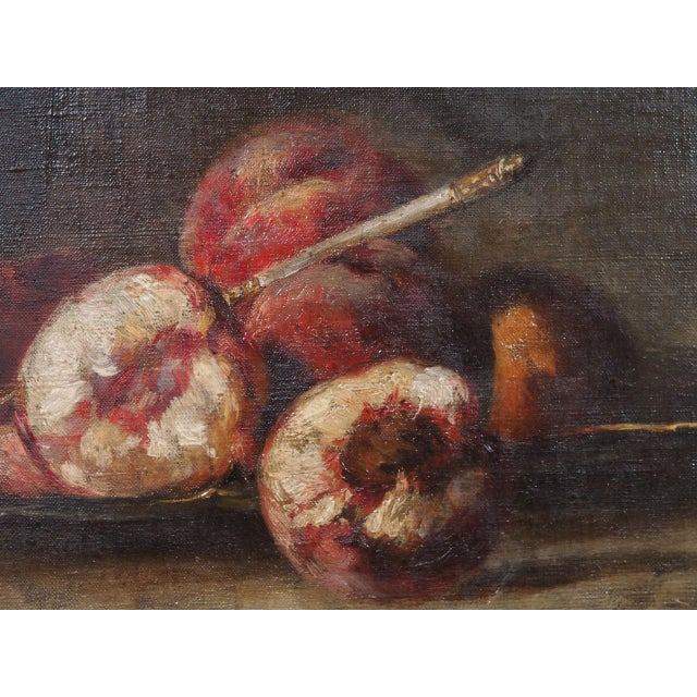 19th Century French Still Life Painting For Sale - Image 4 of 7