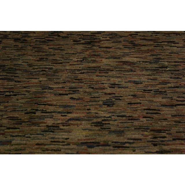 Overdyed Color Reform Glory Gray/Rust Area Rug - 4'7 X 6'4 For Sale In New York - Image 6 of 8