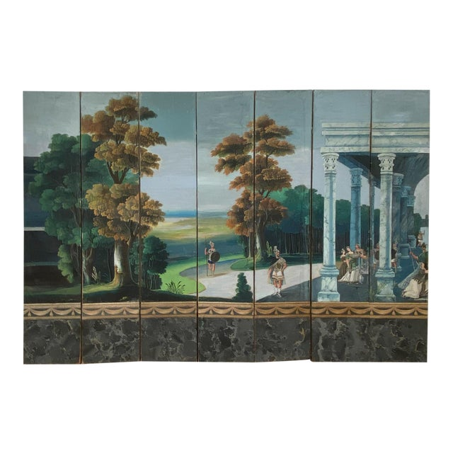 Wallpaper Screen, France 19th Century For Sale