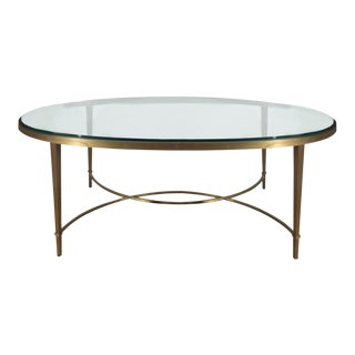 Thomas Pheasant by Baker Oval Coffee Table For Sale