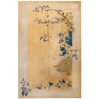 1920s Antique Chinese Art Deco Rug- 9′ × 14′6″ For Sale