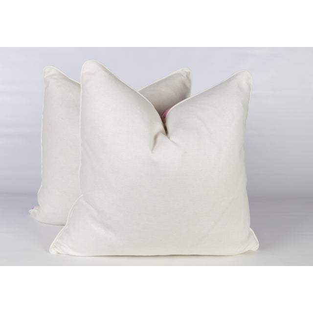 Amaryllis Guinea Spotted Pillows - A Pair - Image 4 of 5
