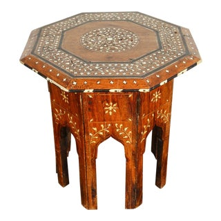 Octagonal Anglo-Indian Side Tea Table