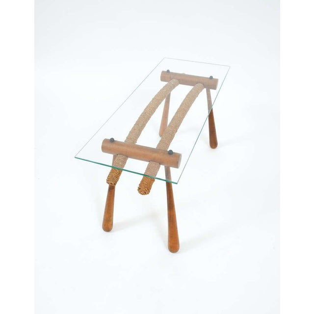 Iconic Modernist Coffee or Side Table by Max Kment, 1955 For Sale - Image 9 of 10
