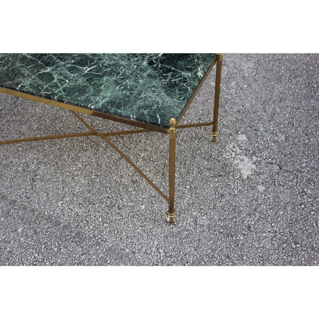 1940s 1940s Vintage French Maison Jansen Coffee Table For Sale - Image 5 of 13