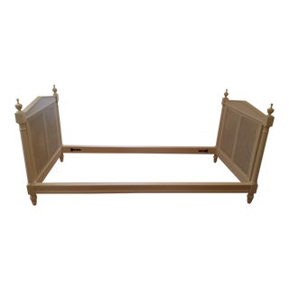19th Century Louis XVI Style Caned Twin/Day Bed For Sale