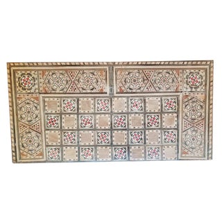 Handmade Inlaid Syrian Backgammon and Chess Board For Sale