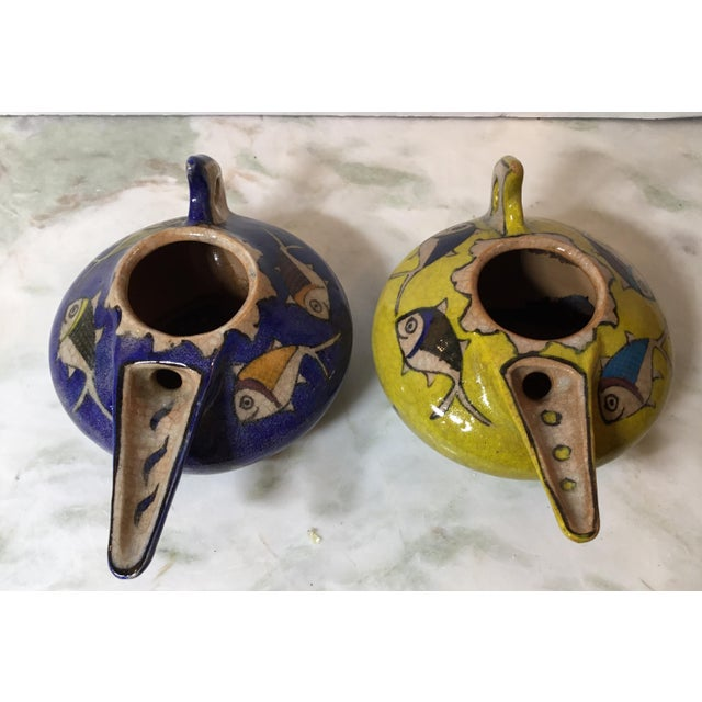Vintage Persian Ceramic Vessels - a Pair For Sale - Image 11 of 13