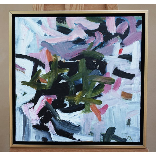 """Laurie MacMillan """"Way to Go"""" Abstract Painting For Sale In Los Angeles - Image 6 of 6"""