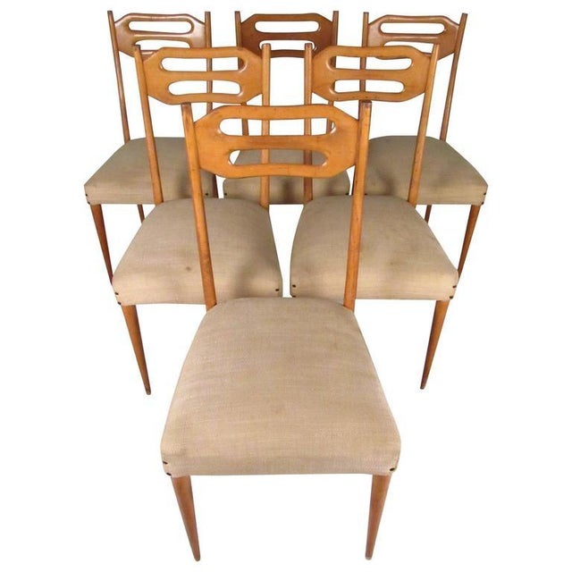 Sculptural Italian Modern Dining Chairs - Set of 6 For Sale - Image 10 of 10