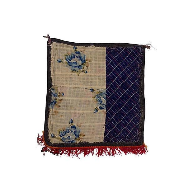 Islamic Embroidered Vintage Turkish Textile For Sale - Image 3 of 4