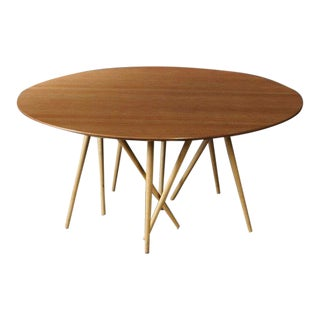1990s Mid-Century Modern Lawrence Laske for Knoll Studios Toothpick Catus Coffee Table For Sale