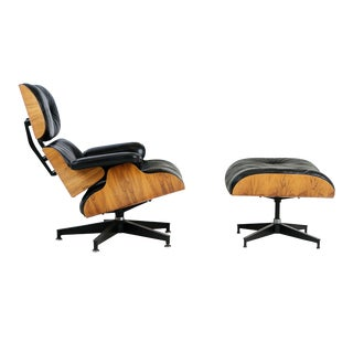 Charles & Ray Eames Lounge Chair and Ottoman for Herman Miller, Circa 1980 For Sale