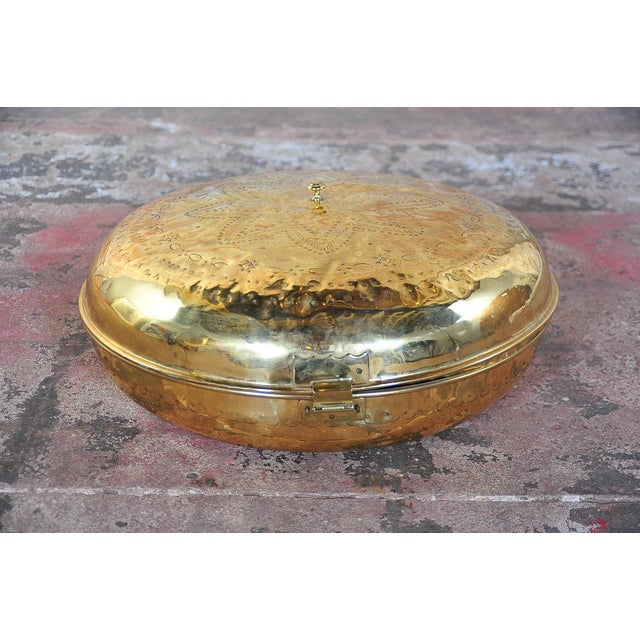 Antique 19th Century Brass Foot Warmer - Image 8 of 11