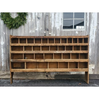 Antique American Multi Compartment Cabinet Preview