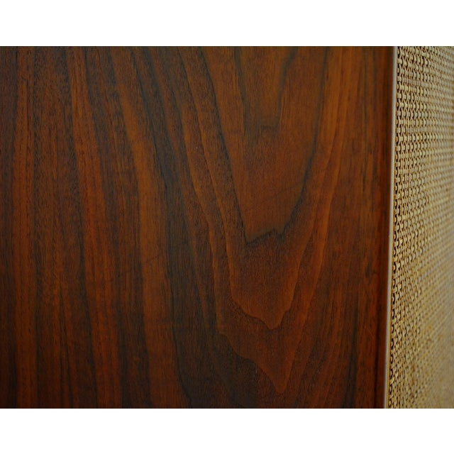Mid Century Jack Cartwright for Founder's Furniture Walnut Armoire For Sale - Image 10 of 13