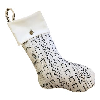 Custom Mudcloth Stocking