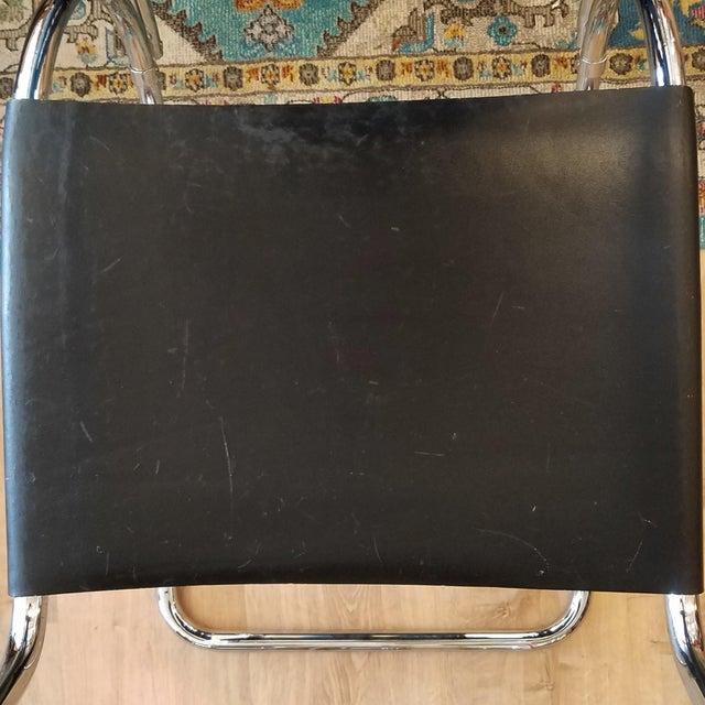Ludwig Mies Van Der Rhoe 1970s Mr 20 Chair - Attributed For Sale - Image 12 of 13