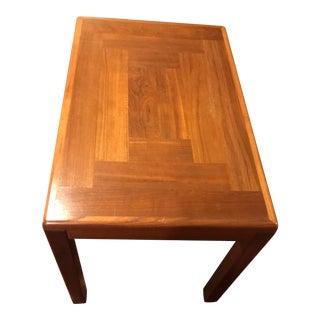 Mid-Century Vintage Teak Side Table For Sale