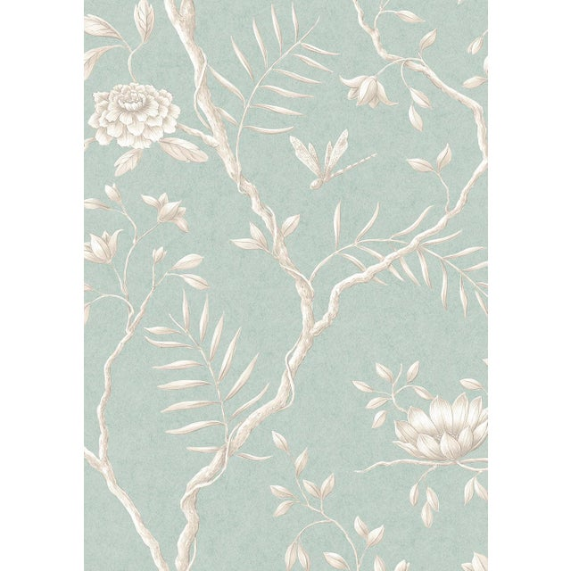 Extra wide printed botanic style wallpaper. Classic designed wallpaper by Lewis & Wood that has been a favorite choice for...