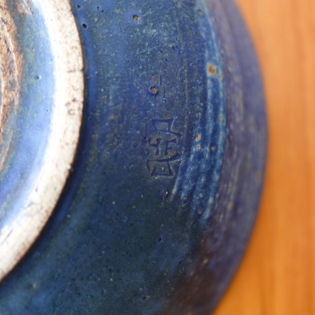 Hal Fromhold California Studio Pottery Large Bowl, 1950s For Sale In San Diego - Image 6 of 8