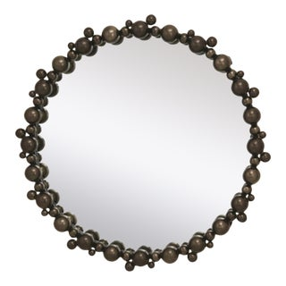 Global Views Modern Bronze Bubble Wall Mirror For Sale