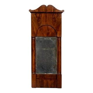 Period Antique Swedish Karl Johan Biedermeier Mirror For Sale