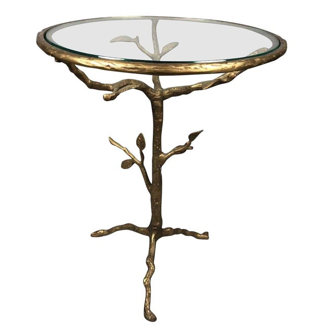 Late 20th Century Bronze Tree Table For Sale In New York - Image 6 of 6