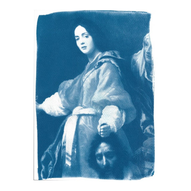 Painting of Judith Cyanotype Print - Image 1 of 5