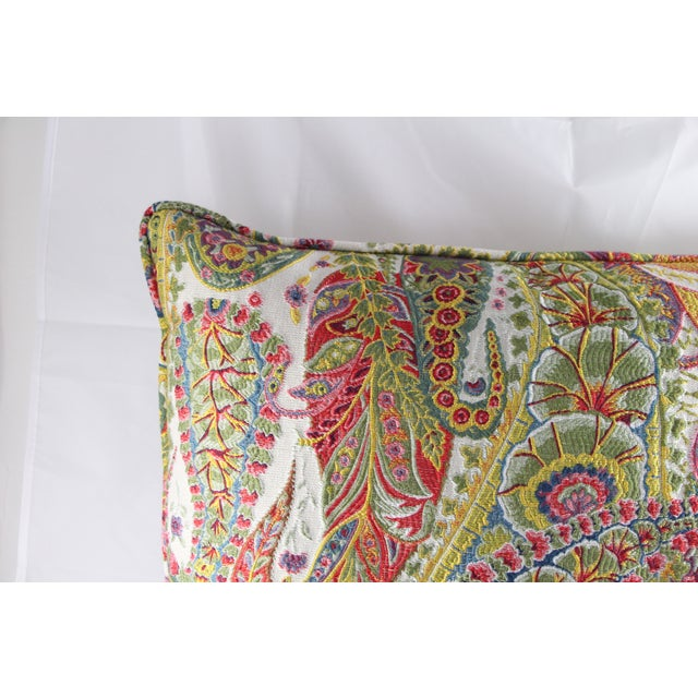 Multi Color Paisley Pillow - Image 3 of 5