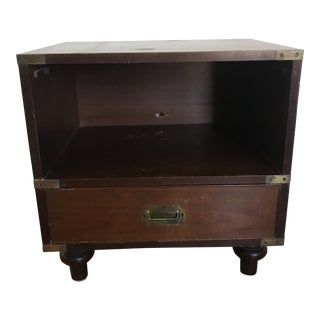 1960s Campaign Beacon Hill End Table For Sale