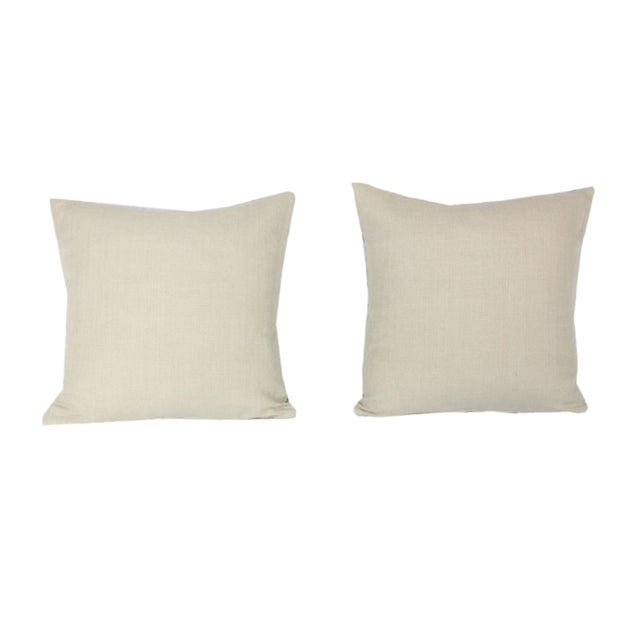 Contemporary Groundworks Bordello Truffle for Lee Jofa Square Pillows - a Pair For Sale - Image 3 of 5