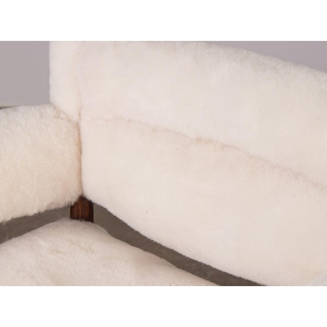 Kristian Vedel Sheepskin Modus Lounge Chairs - a Pair For Sale - Image 9 of 13