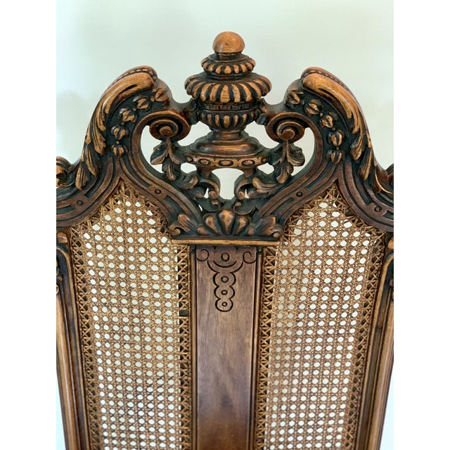 Wood Early 20th Century Vintage Italian Rococo Chair For Sale - Image 7 of 10