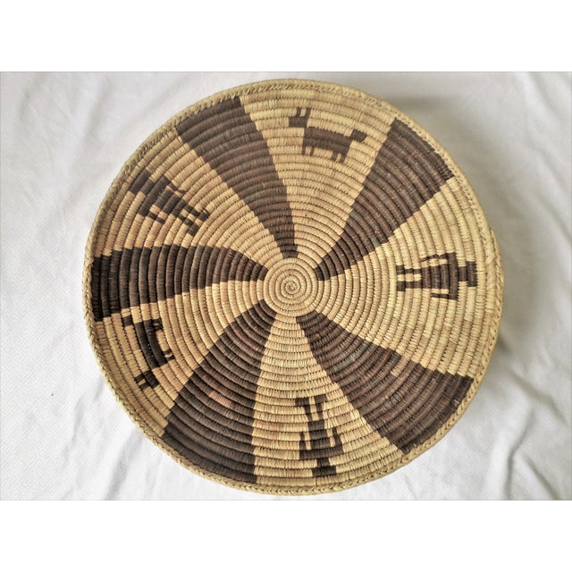 Indian Native American Kumeyaay Mission Tribal Basket For Sale - Image 10 of 10