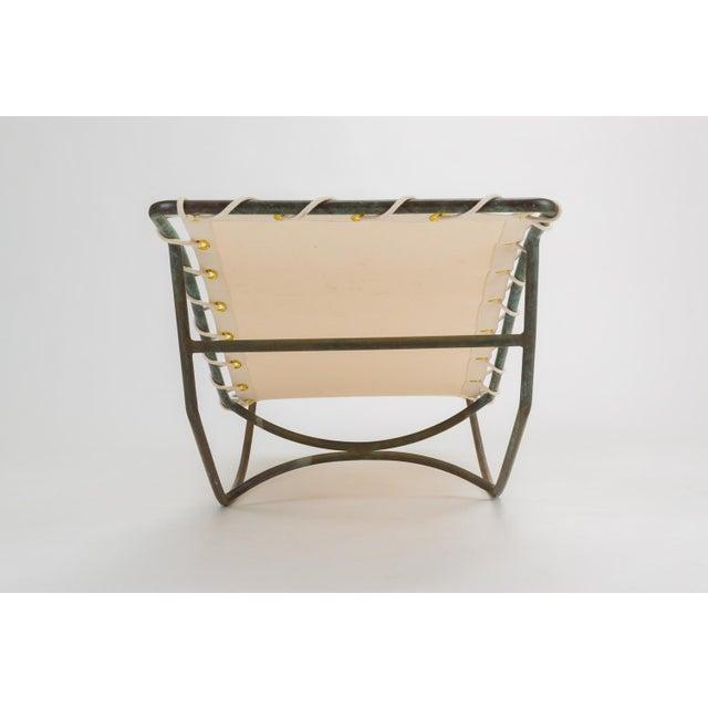 Bronze Pair of Waikiki Rocking Lounge Chairs by Walter Lamb for Brown Jordan For Sale - Image 7 of 13