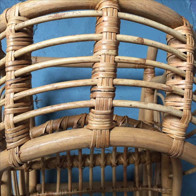 Vintage Child's Rattan Rocking Toy - Image 9 of 11