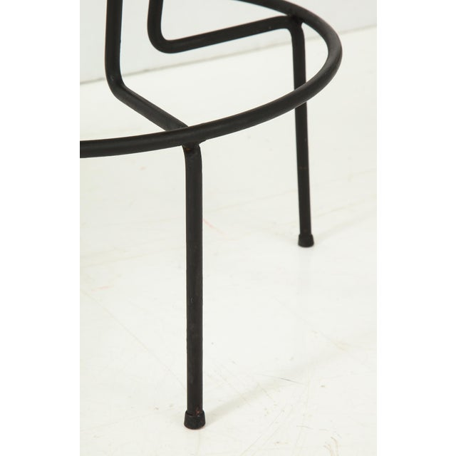 Metal Frederick Weinberg Stools - a Pair For Sale - Image 7 of 10