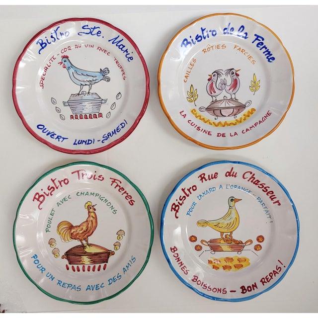 2000 - 2009 Vietri Buon Ricardo Bistro Plates - Set of 2 For Sale - Image 5 of 6
