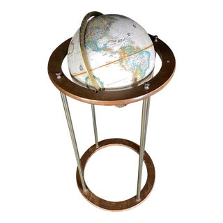 Replogle Globe World Classic Series Floor Lamp For Sale