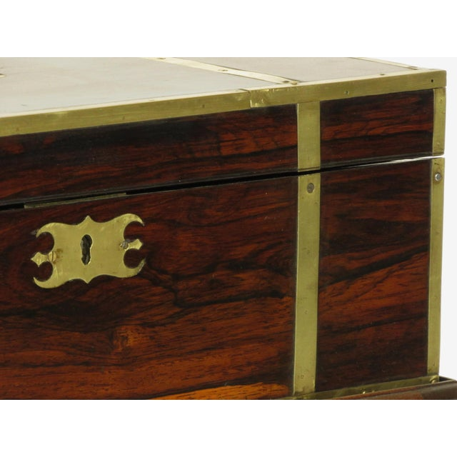 19th Century Regency Lap Desk on Stand For Sale - Image 10 of 11