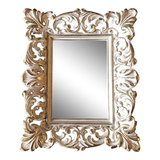 Ornate Brass Finished Photo Frame 1960's. 5 X 7 For Sale