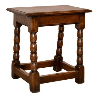 19th C. English Joint Stool For Sale