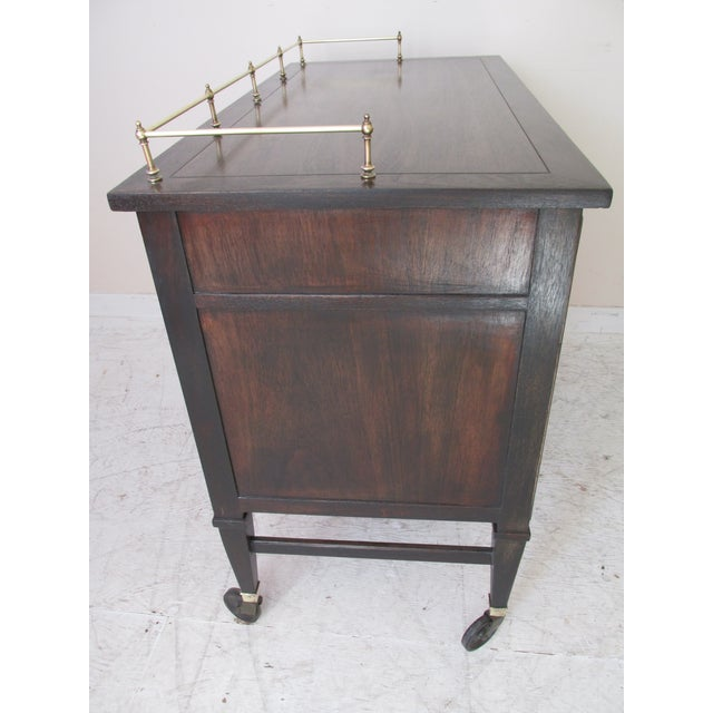 Drexel Mid-Century Serving Cart - Image 4 of 10