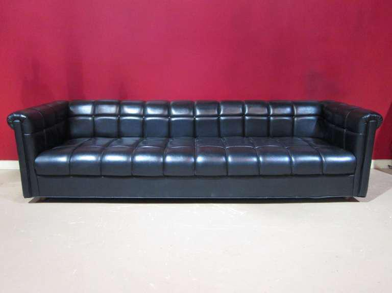 High End Mid Century Modern Tufted Sofa Decaso